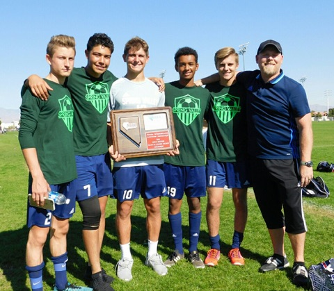 Men's soccer team makes state for the first time in school history