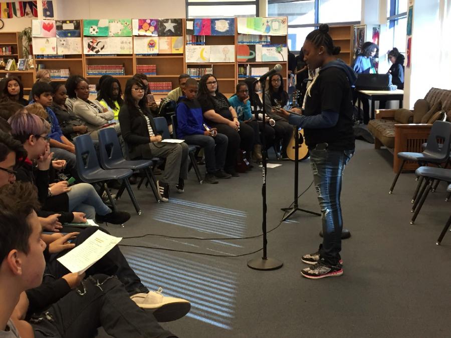 Poetry Slam brings emotion, rhythm