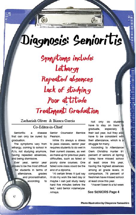 Diagnosis: Senioritis