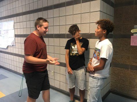 Sabath Pottinger, Chase Stone and Aidan Belcher