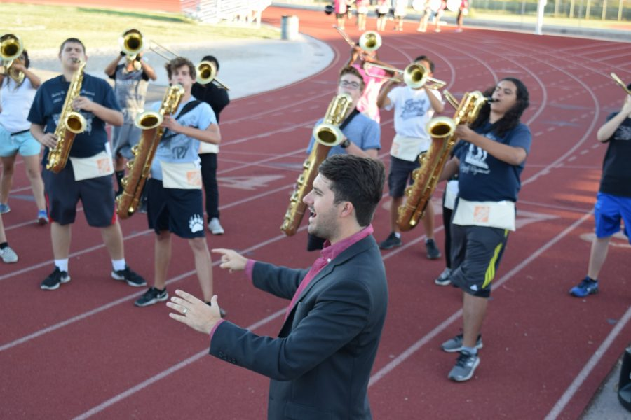 New band director looks to grow program