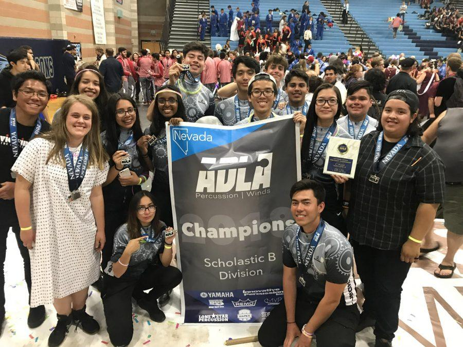 Indoor Percussion ends season with huge success