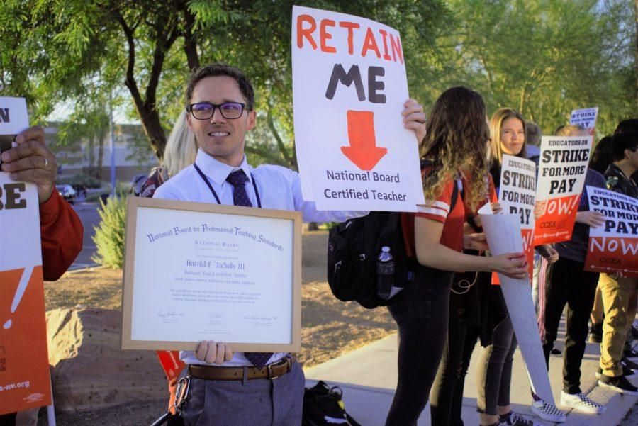 Strike avoided, agreement made between CCSD and teachers