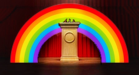 When Rainbows Become Political
