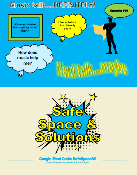 Stress be Gone, Safe Space and Solutions is Here!