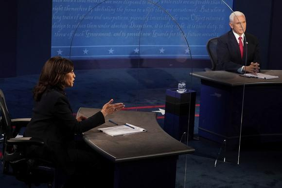 Harriss Cynical Tone Gave Pence the Edge in the Vice Presidential Debate