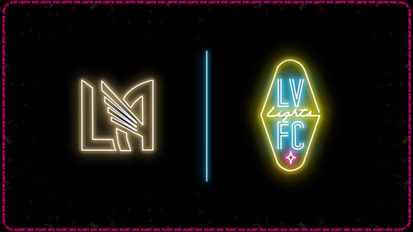 Las Vegas Lights FC officially enter into partnership with Los Angeles FC