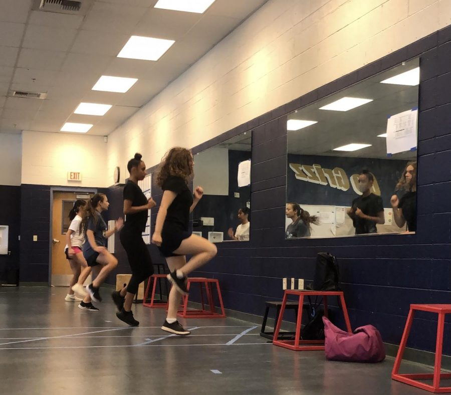 Cross Country Prepares for the Season During Summer Enrichment