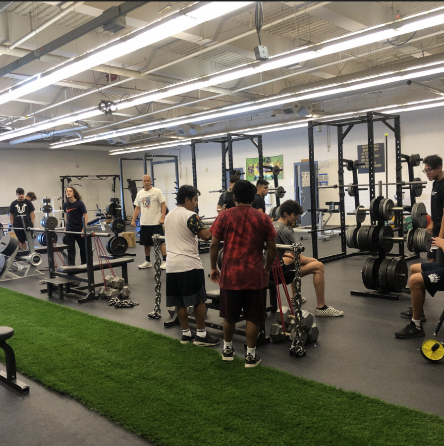 The Wrestling Team Prepares for the Season During Summer Enrichment