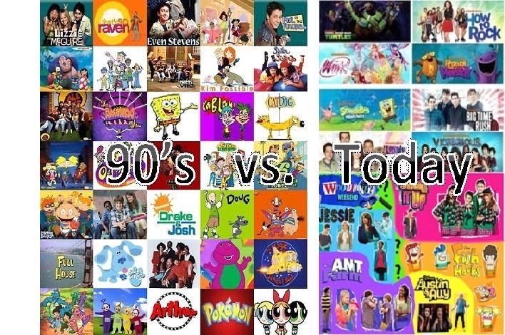 Childrens TV: From fun-nostalgia to twisted modern reality